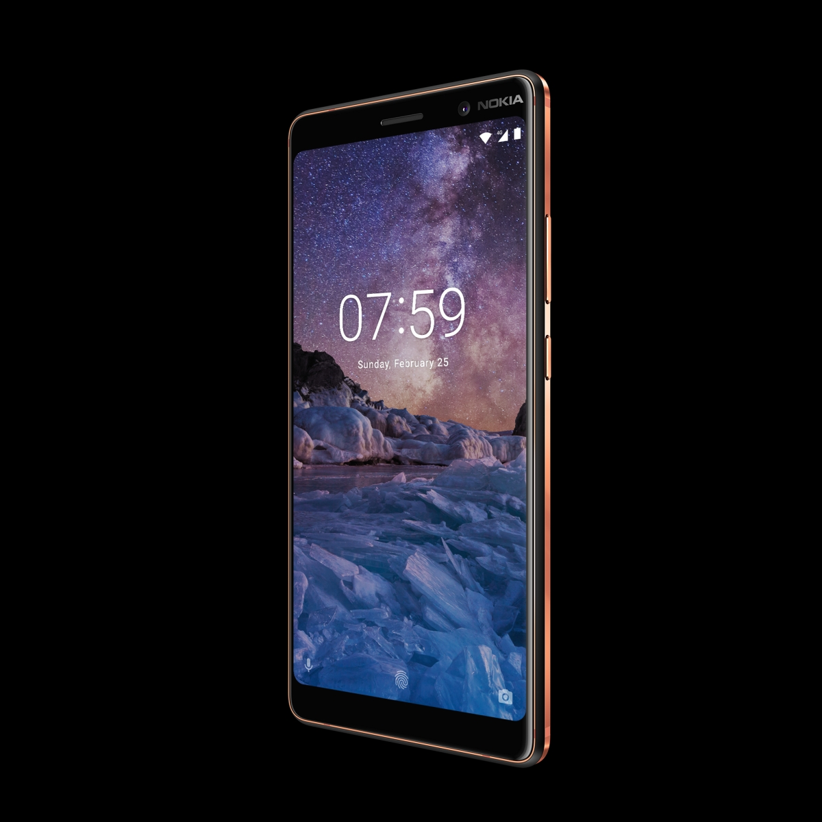 Nokia 7 plus Black Copper