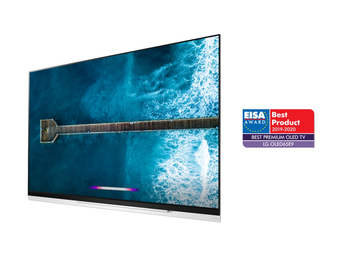 LG OLED TV model OLED65E9